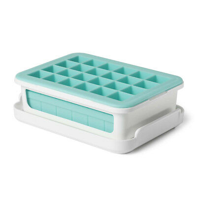 NEW OXO -Good Grips Covered Silicone Cocktail Ice Cube Tray