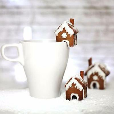 Christmas Gingerbread House Cookie Cake Mold Cutters Biscuit Mold Xmas Stainless