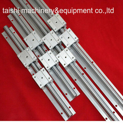 Support Linear Rail SBR20-1000/1400mm(4 Rails+ 8SBR20UU Blocks) for CNC