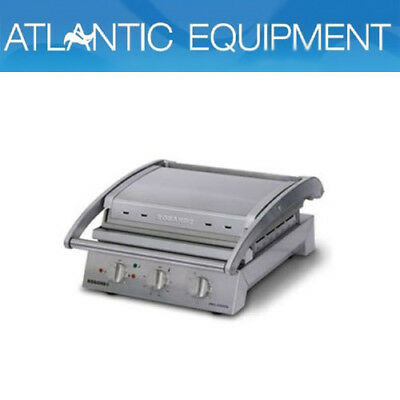Roband GSA610R Grill Station, 6 slice ribbed top plate