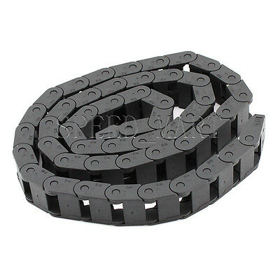 "1 PCS Plastic Cable drag chain wire carrier 10*10mm R18 1000mm (40"")"