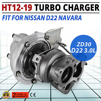 NEW TURBOCHARGER HT12-19 Turbo Charger for NISSAN D22 Navara