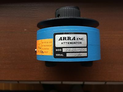Variable attenuator P9684-50S ARRA variable attenuator 15.5-17GHz 50dB