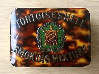 Vintage Churchmans Tortoiseshell Mixture 2oz Tobacco Tin.