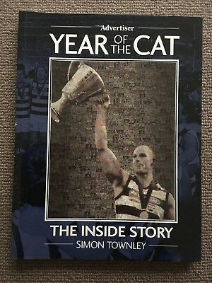 Year Of The Cat - The Inside Story (Simon Townley) 2007 AFL Football Book