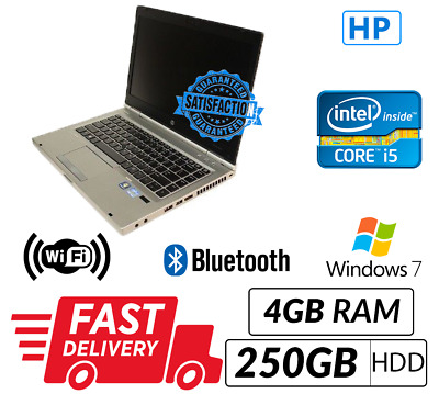 Cheap Laptop HP 8470P Intel Core i5-3320M@2.60 GHz 4GB 250GB Win 7 Pro WIFI Sale
