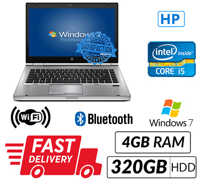 Cheap Laptop HP 8470P Intel Core i5-3320M@2.60 GHz 4GB 320GB Win 7 Pro WIFI Sale