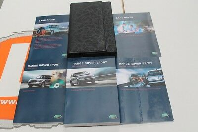 VDC500950 RUSSIAN? Range Rover Sport Owners Hand Book service Pack + Wallet
