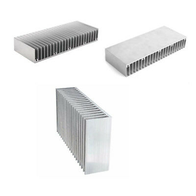 60*150*25mm Aluminum Heat Sink Cooling for Electronic Radiator Silver Electronic