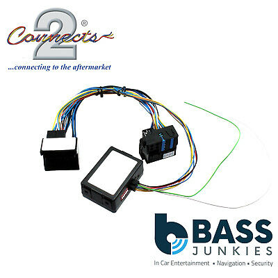 BMW X5 2006 On Car Stereo TV Video In Motion Interface Adaptor Cable Lead