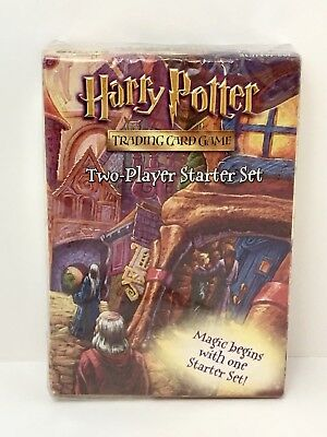 Harry Potter Trading Card Game Two Player Starter Set WOC 14032 Factory Sealed