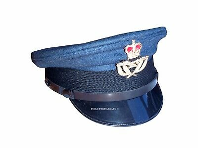 ROYAL AIR FORCE - Warrant Officers Peaked CAP - 56cm - USED - Army - SP3310