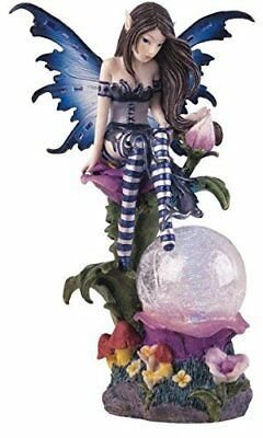 George S. Chen Imports SS-G-91273 Fairy Collection Crystal Ball LED Light Fig...