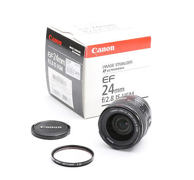 Canon EF 24 mm 2.8 IS USM + OVP + TOP (217238)