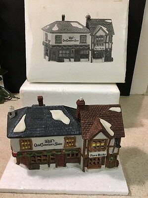 "Dept 56 5905-6 Dickens Heritage Village 'The Old Curiosity Shop"" Mint In Box"