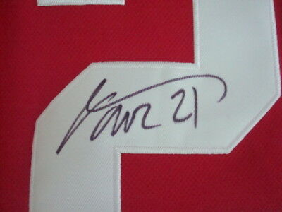 669900a4b9f Tomas Tatar AUTOGRAPH Detroit Red Wings REEBOK JERSEY SIGNED SIZE 54