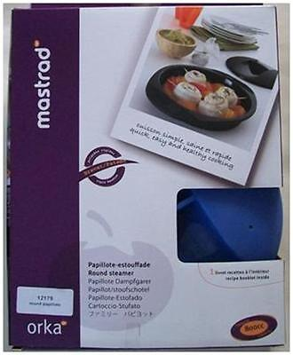 New Mastrad Orka Round Steamer with Recipe Booklet