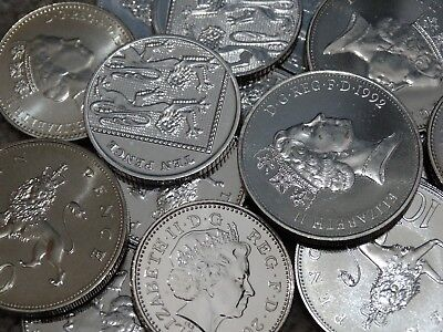 Royal Mint 1982 - 2019 Ten Pence Uncirculated Coins - Various Years - 10p Coins