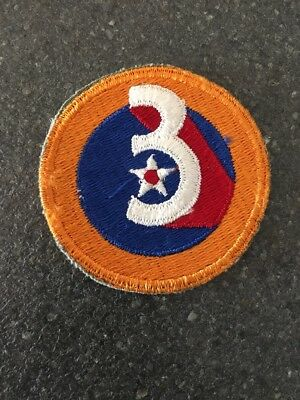 Ww2 Wwii U.s. Army Air Force 3Rd Air Force Patch Usaaf U.s. Army Air Corps