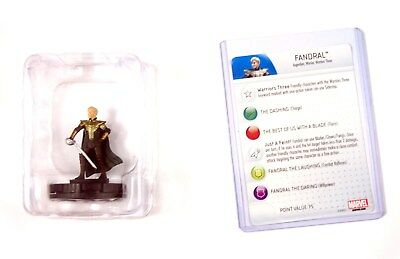 Heroclix Thor The Dark World, Fandral #011, Booster Fresh in Tray
