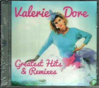 Valerie Dore ‎– Greatest Hits & Remixes 2CD (Sealed/Folia)