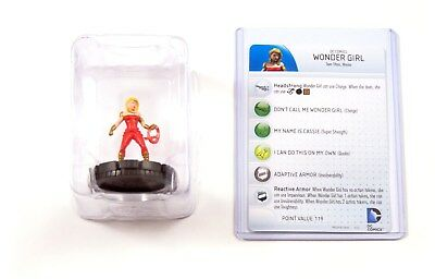 Heroclix Dc Comics Teen Titans, Wonder Girl #203, Booster Fresh in Tray