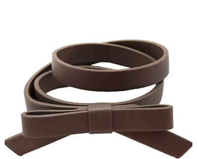 NWT Girls Brown/Mocha CHATEAU DE SABLE Belt With a Bow Sizes 2 - 4, 6-8 & 8-10