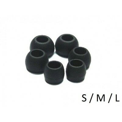 Silicone Replacement Earbud Rubber Tips For In Ear Buds