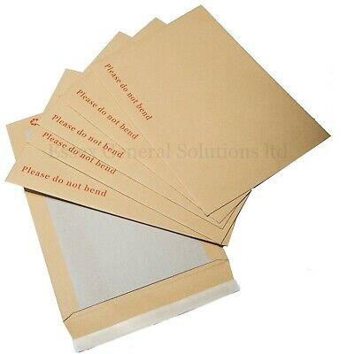 Please Do Not Bend Hard Card Board Backed Manilla Envelopes Brown A3 /a4 /a5 /a6