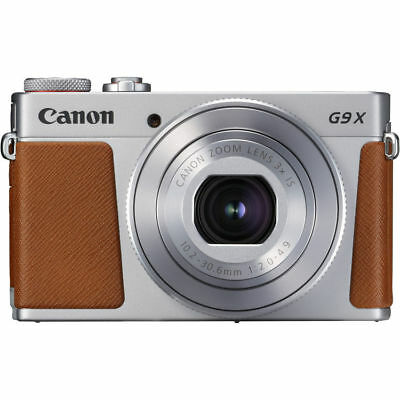 Canon PowerShot G9 X Mark II Digital Camera (Silver) - Canon Authorized Dealer!!