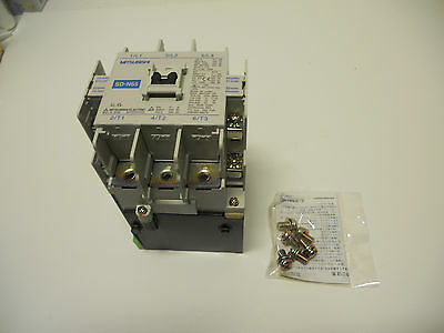 Mitsubishi Contactor Sd-N65 Coil 24 Volts Dc 95 Amps 3 Pole New