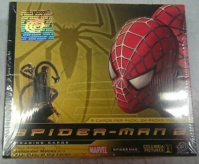 Columbia Pictures Spider-Man 2 Trading Cards Box (Upper Deck) Marvel Movie