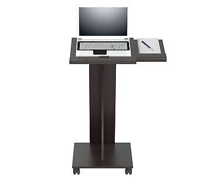 Lectern Book Stand Portable Rolling Pulpit Podium Church School FREE SHIP