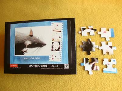 Rat Photo Puzzle from Petrats