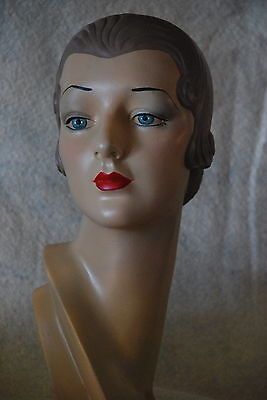 mannequin head  vintage style