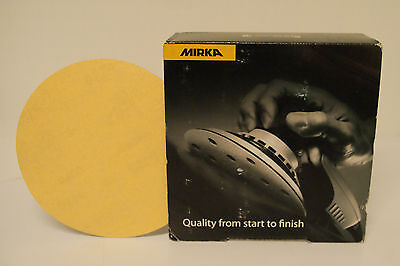 Mirka 23-624-400 Gold 6 6h Grip Vac Disc 400g