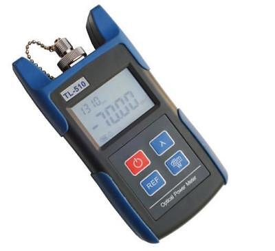 New TL510 Handheld Optical Power Meter LED With Connector FC Fiber Test Meter