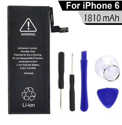 NEW  Internal Replacement Battery for iPhone 6 1810mAh
