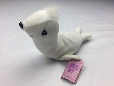 Precious Moments Tender Tails White Seal By Enesco