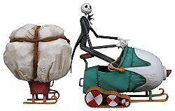 Nightmare Before Christmas Jack in Snowmobile Boxed Set