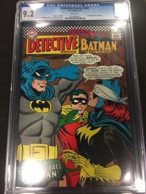 Detective Comics #363 2nd Appearance of New Batgirl CGC 9.2 NM-