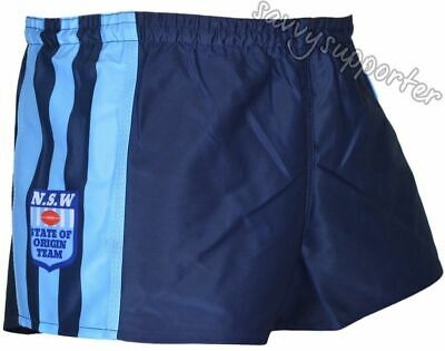 NSW Blues Origin Heritage Playing Shorts 'Select Size' S-3XL BNWT5 NRL