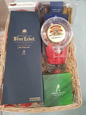 Blue Lagoon Gift Box – Johnnie Walker Blue Label with whisky Glass, Chocolate...