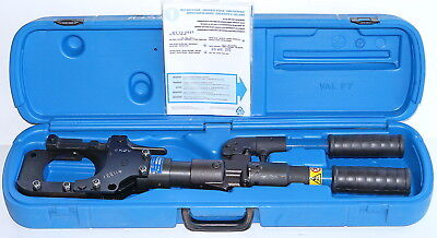 Cembre HT-TC0851 85mm Manual Portable Hydraulic Cable Cutter *NEVER USED*
