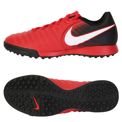 sale retailer c520f 7ab00 Nike TiempoX Ligera IV TF Turf Football Shoes Soccer Cleats Red 897766-616