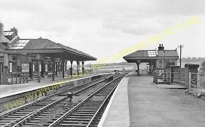 Staveley Works Railway Station Photo. Chesterfield Line. Great Central Rly. (3)