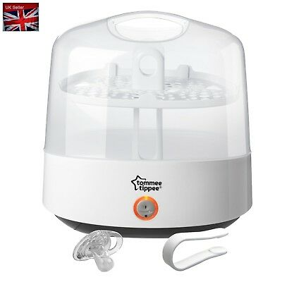 Tommee Tippee Closer to Nature Steriliser, Electric - White