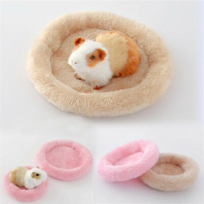 New Guinea Pig Bed Winter Animal Mat Hamster Hedgehog Sleeping House S-L