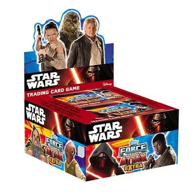 STAR WARS The Force Awakens EXTRA  - Force Attax EXTRA Trading Card GAME