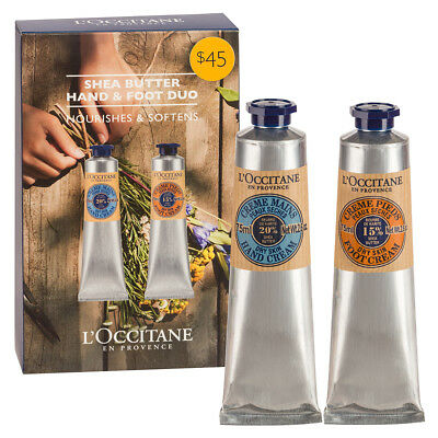 NEW L'Occitane Shea Butter Hand And Foot Duo